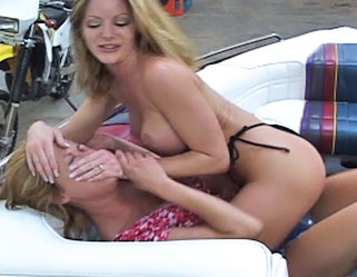 Desperate housewives  hot busty babes try to choke each other with their great tits. Hot curvy Babes try to choke each other with their great tits